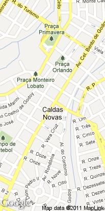 av.cel. cirilo, 155, centro, caldas novas, go, brasil