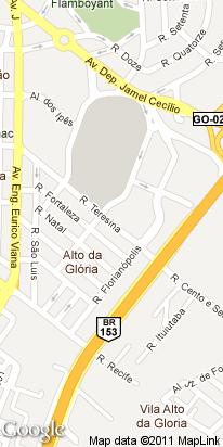 r. teresina, 260, alto da gloria, goiania, go, brasil