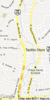 br 116, p vitoria da conquista km275, centro, teofilo otoni, mg, brasil