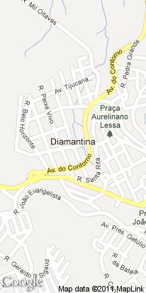 estrada do cruzeiro luminoso, s n, jardim da serra, diamantina, mg, brasil