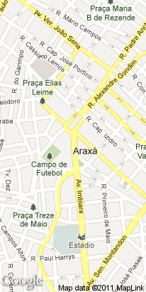 r calimeiro guimaraes, 180, centro comercial, araxa, mg, brasil