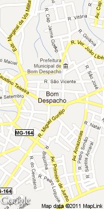 rua olaria, 122, centro, bom despacho, mg, brasil
