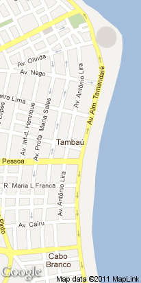 al.tamandare, 440, praia tambau, joao pessoa, pb, brasil