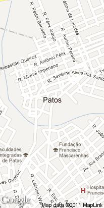 pca getulio vargas, centro, patos, pb, brasil