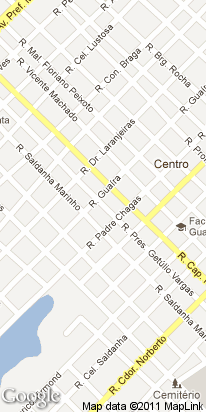 r getuli vargas, 1635, centro, guarapuava, pr, brasil