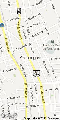 r marabu esq. jacutingas, 1229, centro, arapongas, pr, brasil