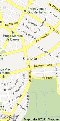 r piratinga, 388, centro, cianorte, pr, brasil