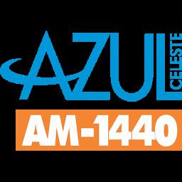 Logotipo RADIO AZUL CELESTE