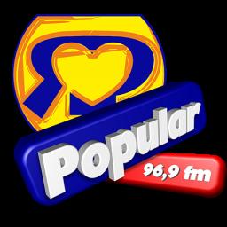 Logotipo RADIO POPULAR 96,9 FM