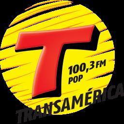 Logotipo TRANSAMERICA POP 100,3