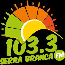 Logotipo SERRA BRANCA FM