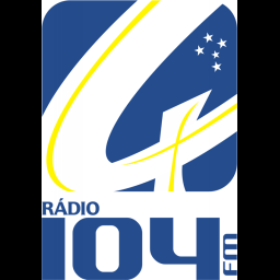 Logotipo RÁDIO 104 FM MUSICAL