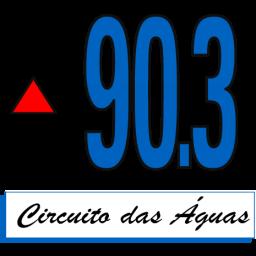 Logotipo RÁDIO CIRCUITO DAS ÁGUAS FM