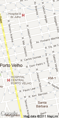 av. carlos gomes, 1616, sao cristovao, porto velho, ro, brasil