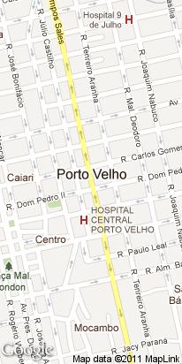 r terneiro aranha, 2472, centro, porto velho, ro, brasil