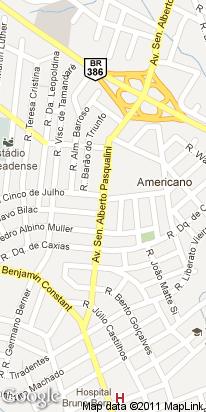 av. sem. alberto pasqualini, 536, americano, lajeado, rs, brasil