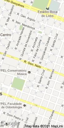 r gen. neto, 11279, centro, pelotas, rs, brasil