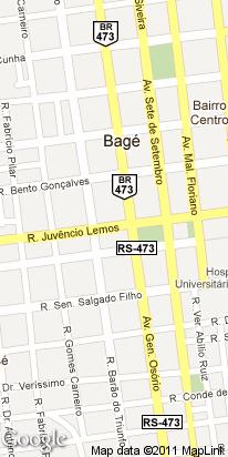 r juvencio lemos 45, centro, bage, rs, brasil