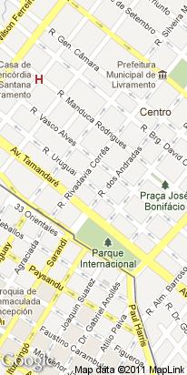 r uruguai, 1452, centro, santana do livramento, rs, brasil