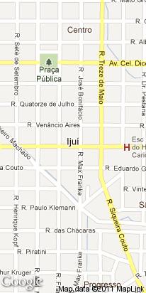 rua 15 de novembro, 234, perimetro rural, ijui, rs, brasil