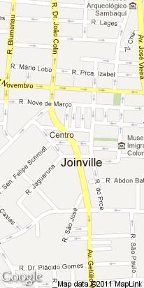 av. juscelino kubtischek , 300, centro, joinville, sc, brasil