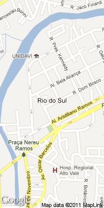r bulcao viana, 167, jd america, rio do sul, sc, brasil