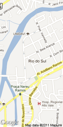r d bosco, 1436, centro, rio do sul, sc, brasil