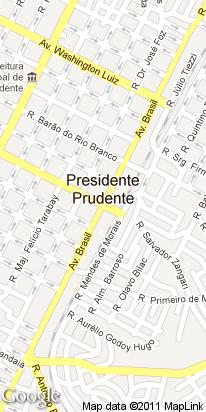 av. brasil, 1501, centro, presidente prudente, sp, brasil