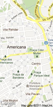 r wassington luiz, 399, centro, americana, sp, brasil