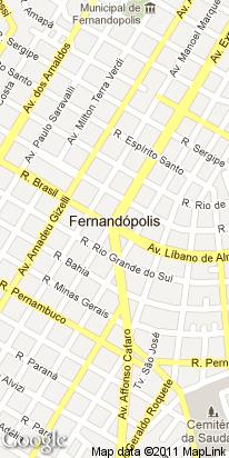 rua brasil, 2014, centro, fernandopolis, sp, brasil
