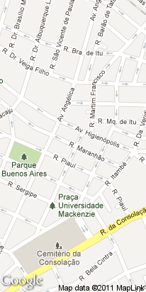 rua maranhao, 351, higienopolis, sao paulo, sp, brasil